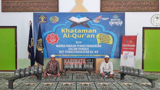 Contoh Spanduk Khatam Al Quran - desain spanduk kreatif