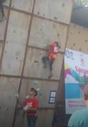 Atlet Panjat Tebing Asal Pamekasan Raih Medali Perak Www Karimatafm Net