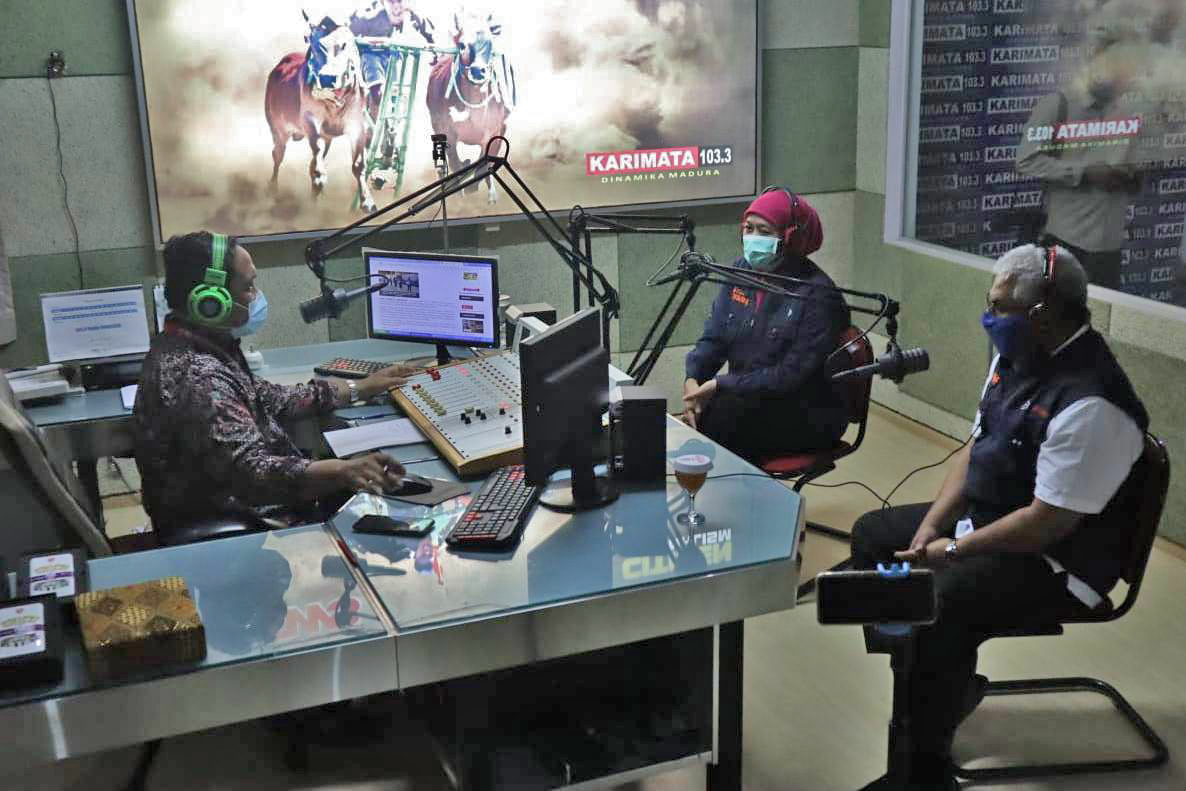TALKSHOW GUBERNUR JATIM 14 SEPTEMBER 2020
